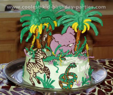 Rikelle's Animal Safari Birthday Party Tale